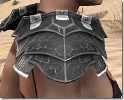 Ebony Iron Pauldron - Female Right