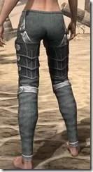 Ebony Rawhide Guards - Female Rear