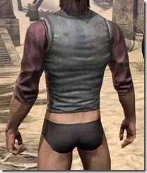 Layered Shirt - Male Rear