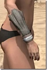Mazzatun Iron Gauntlets - Female Right