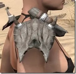 Mazzatun Iron Pauldron - Female Right
