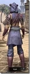 Minotaur Homespun - Dyed Robe Rear