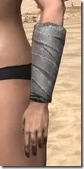 Minotaur Homespun Gloves - Female Side