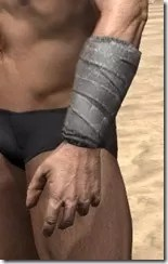 Minotaur Homespun Gloves - Male Side