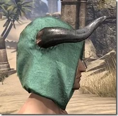 Minotaur Homespun Hat - Male Right