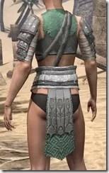 Minotaur Homespun Jerkin - Female Rear