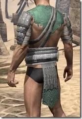 Minotaur Homespun Jerkin - Male Rear