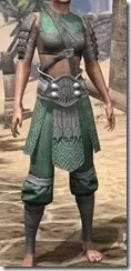 Minotaur Homespun Robe 1- Female Front