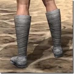 Minotaur Homespun Shoes - Male Rear