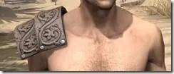 Minotaur Rawhide Arm Cops - Male Front