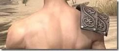 Minotaur Rawhide Arm Cops - Male Rear