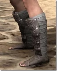 Minotaur Rawhide Boots - Female Side