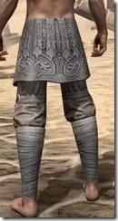 Minotaur Rawhide Gaurds - Male Rear