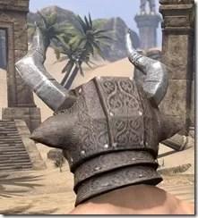 Minotaur Rawhide Helmet- Male Rear