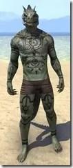 Necrmatic Sigil Body Tattoos - Argonian Front