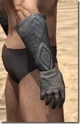 Order of the Hour Iron Gauntlets - Male Right
