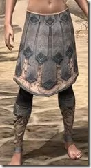 Order of the Hour Iron Greaves - Female Front