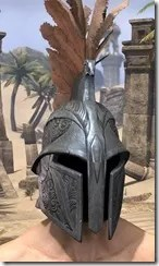 Order of the Hour Iron Helm - Male Front