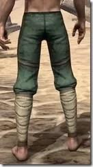 Outlaw Homespun Breeches - Male Rear