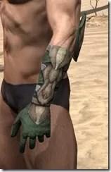 Outlaw Homespun Gloves - Male Side