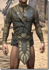 Outlaw Iron Cuirass  - Male Front