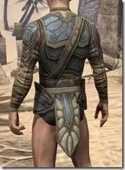 Outlaw Iron Cuirass  - Male Rear