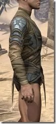 Outlaw Iron Cuirass  - Male Right