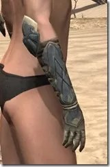 Outlaw Iron Gauntlets - Female Right