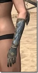 Outlaw Iron Gauntlets - Female Side