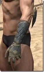 Outlaw Iron Gauntlets - Male Side