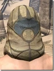 Outlaw Iron Helm - Male Rear