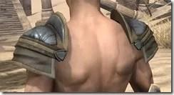 Outlaw Iron Pauldron - Male Rear