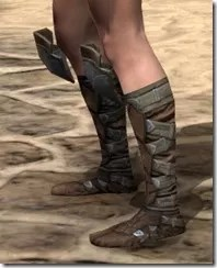 Outlaw Rawhide Boots - Female Side
