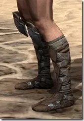 Outlaw Rawhide Boots - Male Side