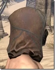 Outlaw Rawhide Hat - Male Right