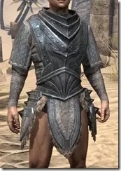 Skinchanger Iron Cuirass - Male Front