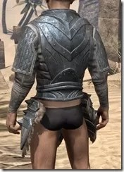 Skinchanger Iron Cuirass - Male Rear