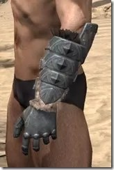 Skinchanger Iron Gauntlets - Male Side