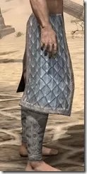 Skinchanger Iron Greaves - Male Right