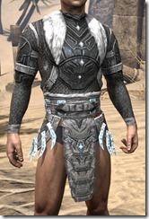 Stahlrim Frostcaster Iron Cuirass - Male Front