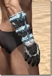Stahlrim Frostcaster Iron Gauntlets - Male Right