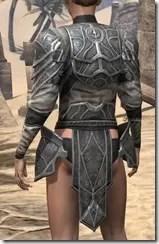 Thieves Guild Iron Cuirass - Female Rear