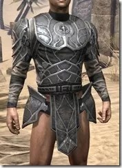 Thieves Guild Iron Cuirass - Male Front