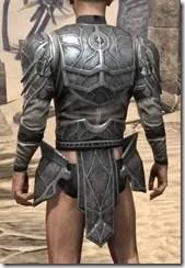 Thieves Guild Iron Cuirass - Male Rear