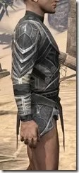 Thieves Guild Iron Cuirass - Male Right