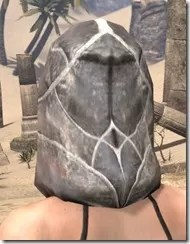 Thieves Guild Iron Helm - Female Rear