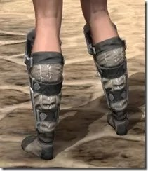 Thieves Guild Iron Sabatons - Female Rear