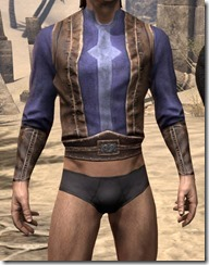 Vested Shirt and Cuffs - Male Front