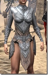 Divine Prosecution Heavy Cuirass - Female Front