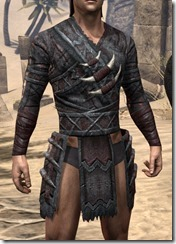 Reach Winter Heavy Cuirass - Male Front